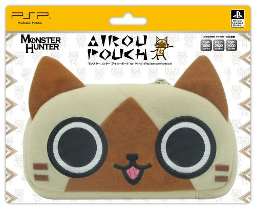 Image 3 for Monster Hunter Character Pouch (Airou)
