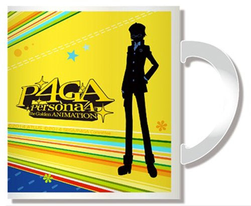 Image 2 for Persona 4: the Golden Animation - Shirogane Naoto - Mug (Penguin Parade)