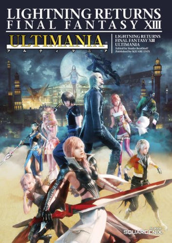 Image for Final Fantasy Lightning Returns   Xiii Ultimania