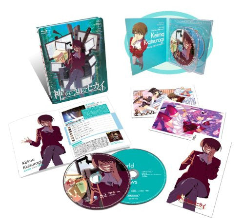 Image 2 for The World God Only Knows / Kami Nomi Zo Shiru Sekai Route 6.0 [Blu-ray+CD Limited Edition]