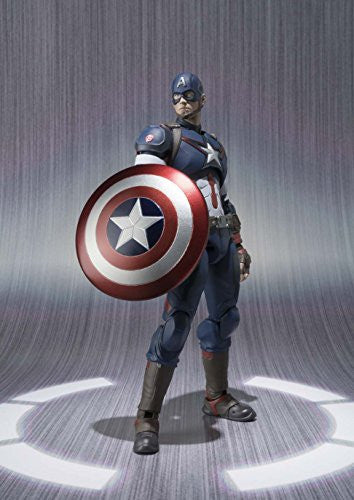 Image 3 for Avengers: Age of Ultron - Captain America - S.H.Figuarts (Bandai)