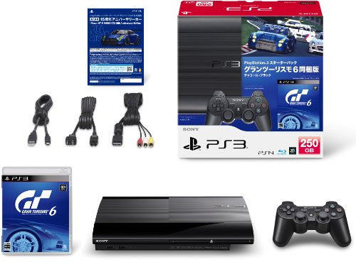 Image 2 for PlayStation3 New Slim Console - Starter Pack with Gran Turismo 6 (Charcoal Black)