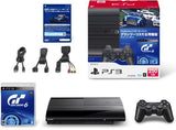 PlayStation3 New Slim Console - Starter Pack with Gran Turismo 6 (Charcoal Black) - 2