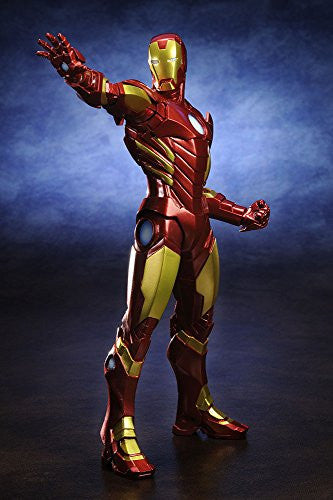 Image 2 for The Avengers - Iron Man - ARTFX+ - Marvel The Avengers ARTFX+ - 1/10 - Red x Gold (Kotobukiya)