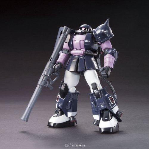 Image 1 for Kidou Senshi Gundam - MS-06R-1A Zaku II High Mobility Type - HGUC #151 - 1/144 - Black Tri-Stars Version (Bandai)