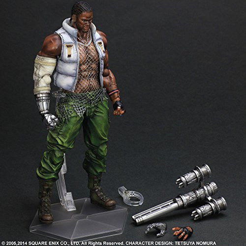 Image 7 for Final Fantasy VII: Advent Children - Barret Wallace - Play Arts Kai (Square Enix)