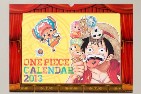 Image for One Piece - Comic Calendar - Wall Calendar - 2013 (Shueisha)[Magazine]