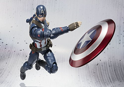 Image 2 for Captain America: Civil War - Captain America - S.H.Figuarts (Bandai)
