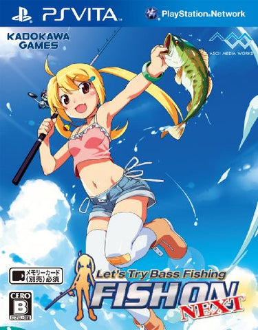 Image for Let's Try Bass Fishing: Fish On Vita