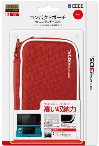 Image 1 for Compact Pouch 3DS (Red)