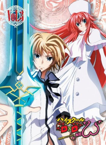 Image for High School DxD New Vol.3 [Blu-ray+CD]