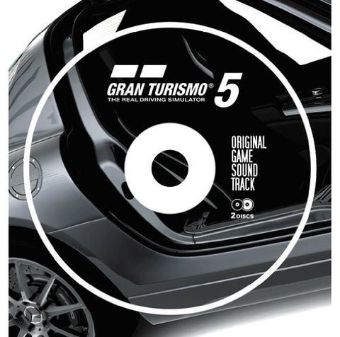 Image for GRAN TURISMO 5 ORIGINAL GAME SOUNDTRACK