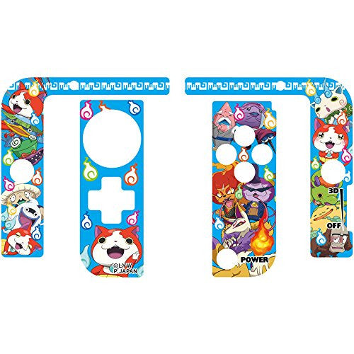 Image 2 for Youkai Watch Protect Seal for 3DS LL (Blue)