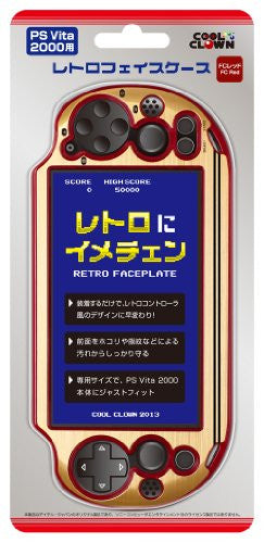 Image 1 for Retro Face Case for PlayStation Vita New Slim Model - PCH-2000