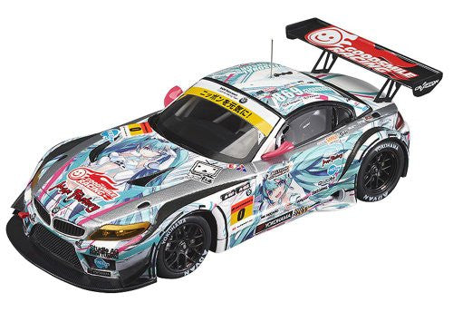 Image 1 for GOOD SMILE Racing - Vocaloid - Hatsune Miku - Itasha - 2012 Hatsune Miku GOOD SMILE Racing BMW Z4 GT3 - 1/43 - BMW Z4 GT3 - 2012 Season Opening Version (Max Factory)