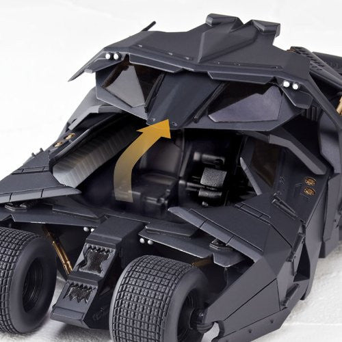 Image 4 for Batman Begins - The Dark Knight - The Dark Knight Rises - Batman - Batmobile Tumbler - Revoltech - Revoltech SFX 043 (Kaiyodo)