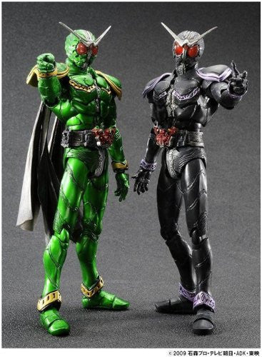 Image 2 for Kamen Rider W - Kamen Rider x Kamen Rider Double & Decade: Movie War 2010 - Kamen Rider Double Cyclone Cyclone - S.I.C. (Bandai)
