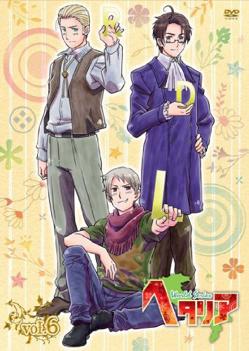 Image 1 for Hetalia World Series Vol.6 [DVD+CD Limited Edition]