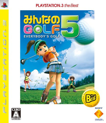 Image for Minna no Golf 5 (PlayStation3 the Best)