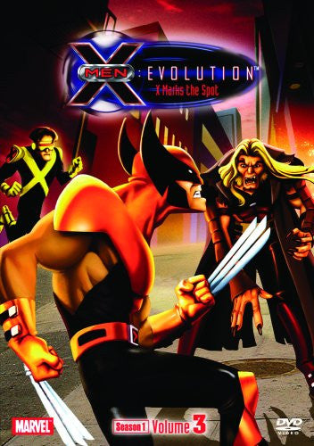 Image 1 for X-Men - Evolution Season 1 Volume3 - X-Marks The Spot [Limited Pressing]