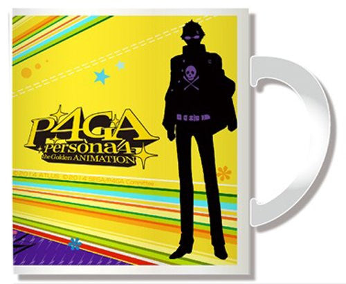 Image 2 for Persona 4: the Golden Animation - Tatsumi Kanji - Mug (Penguin Parade)