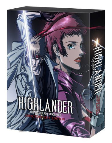 Image for Highlander: The Search For Vengeance Director's Cut Edition [Limited Edition]