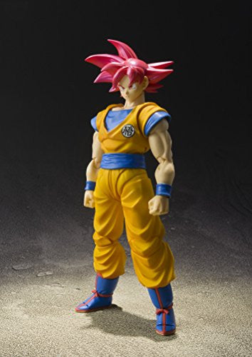 Image 7 for Dragon Ball Z: Kami to Kami - Son Goku SSJ God - S.H.Figuarts (Bandai)