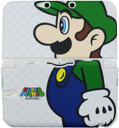 Image 3 for Rubber Coat Cover for 3DS LL (Luigi)