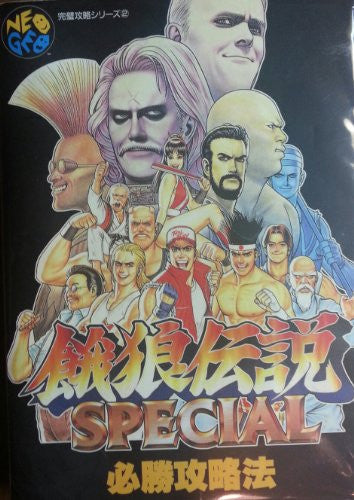Image 1 for Fatal Fury Special Winning Strategy Book / Neogeo