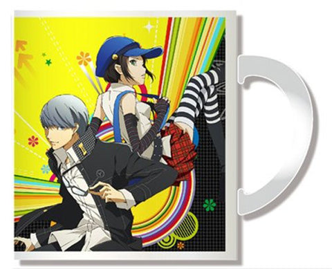 Image for Persona 4: the Golden Animation - Marie - Shujinkou - Mug Cup (Penguin Parade)