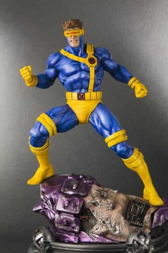 Image 6 for X-Men - Cyclops - Fine Art Statue - 1/6 - Danger Room Sessions (Kotobukiya)