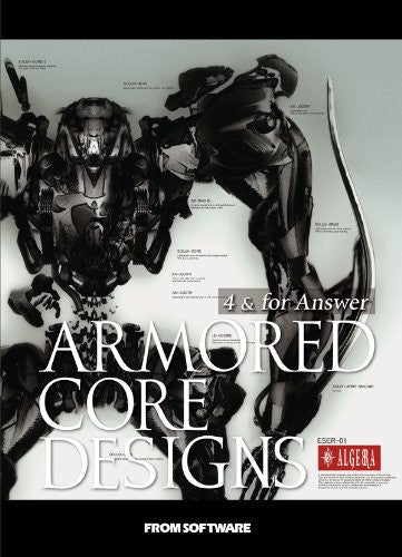 Image 1 for Armored Core Designs 4 & For Answer