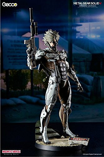 Image 1 for Metal Gear Solid V: Ground Zeroes - Raiden - 1/6 - White Armor Ver. (Gecco, Mamegyorai)