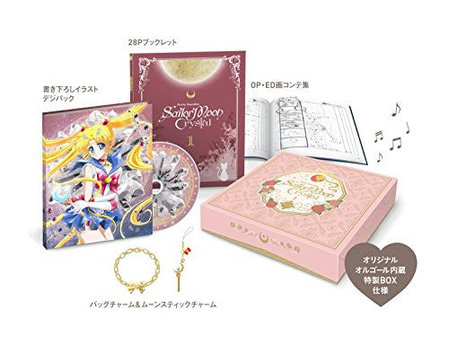 Image 1 for Pretty Guardian Sailor Moon Crystal Vol.1 [Limited Edition]