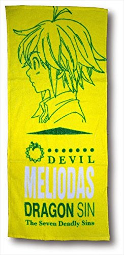 Image 1 for Nanatsu no Taizai - Meliodas - Towel - Face Towel (Fragment)