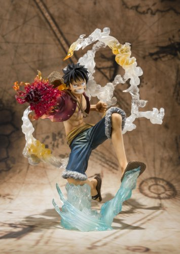 Image 2 for One Piece - Monkey D. Luffy - Figuarts ZERO - Battle ver. (Bandai)