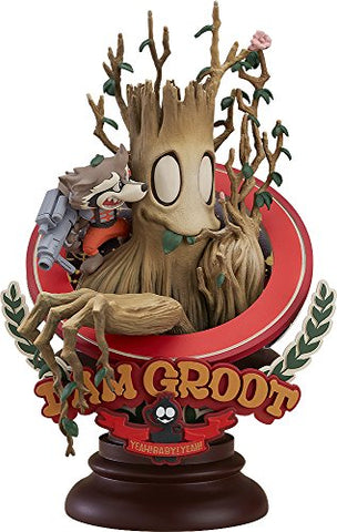 Image for Guardians of the Galaxy - Groot - Rocket Raccoon - Superlog ver.