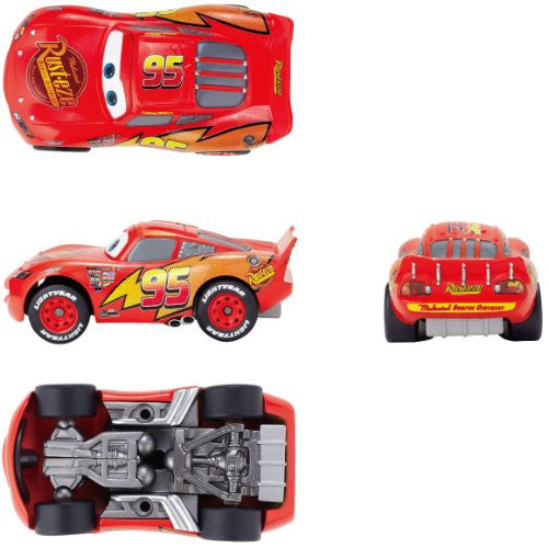 Image 3 for Cars - Lightning McQueen - Revoltech - Revoltech Pixar Figure Collection - 3 (Kaiyodo Pixar The Walt Disney Company)