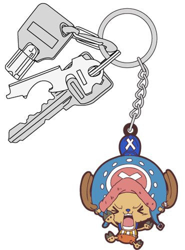 Image 3 for One Piece - Tony Tony Chopper - Keyholder - Rubber Strap - Tsumamare - Struggling Version (Cospa)