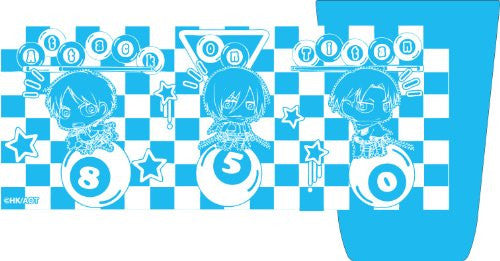 Image 1 for Shingeki no Kyojin - Levi - Eren Yeager - Mikasa Ackerman - Glass - Slim Tumbler - Cup - Chimi (Fragment)