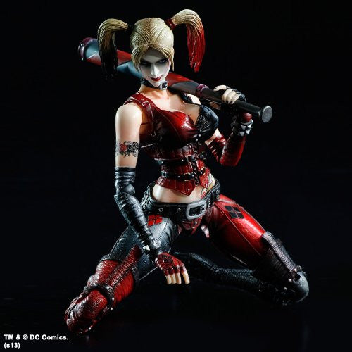 Image 5 for Batman: Arkham City - Harley Quinn - Play Arts Kai (Square Enix)