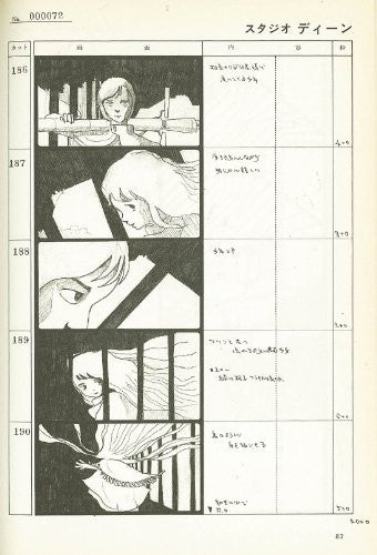 Image 4 for Angel's Egg / Tenshi No Tamago   Conte / Storyboard