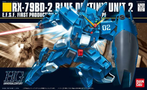 Image for RX-79BD-2 Gundam Blue Destiny Unit 2 - HGUC 077 - 1/144 (Bandai)