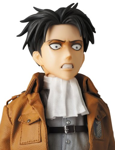 Image 9 for Shingeki no Kyojin - Levi - Real Action Heroes #662 - 1/6 (Medicom Toy)
