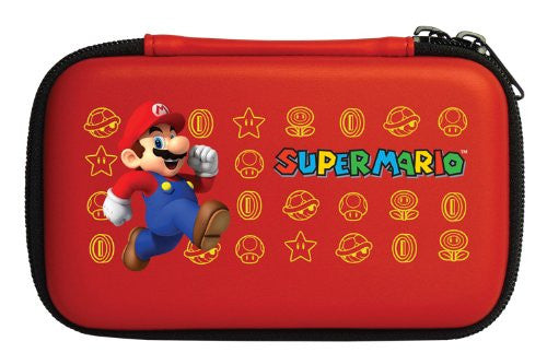 Image 2 for Super Mario Hard Pouch 3DS (Red)