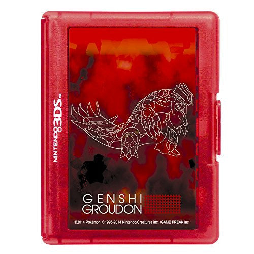 Image 2 for Pokemon Card Case 24 for 3DS (Genshi Groudon)