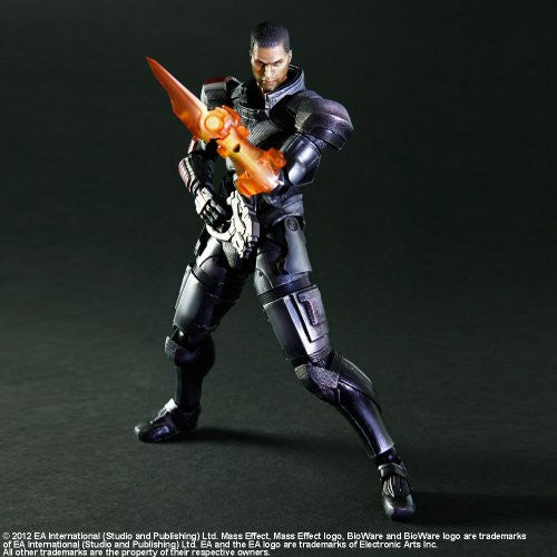 Image 3 for Mass Effect 3 - John Shepard - Play Arts Kai (Square Enix)
