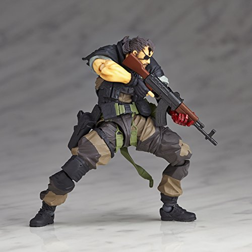 Image 9 for Metal Gear Solid V: The Phantom Pain - Naked Snake - Revolmini rm-012 - Revoltech - Venom ver. (Kaiyodo)