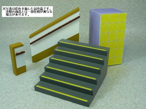 Image 2 for 1/12 Figure Scenery Set Series - School Staircase - 1/12 (Skynet)