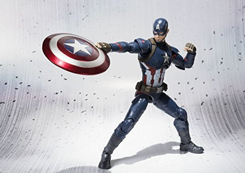 Image 3 for Captain America: Civil War - Captain America - S.H.Figuarts (Bandai)
